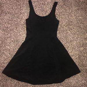 H&M Black Skater Dress